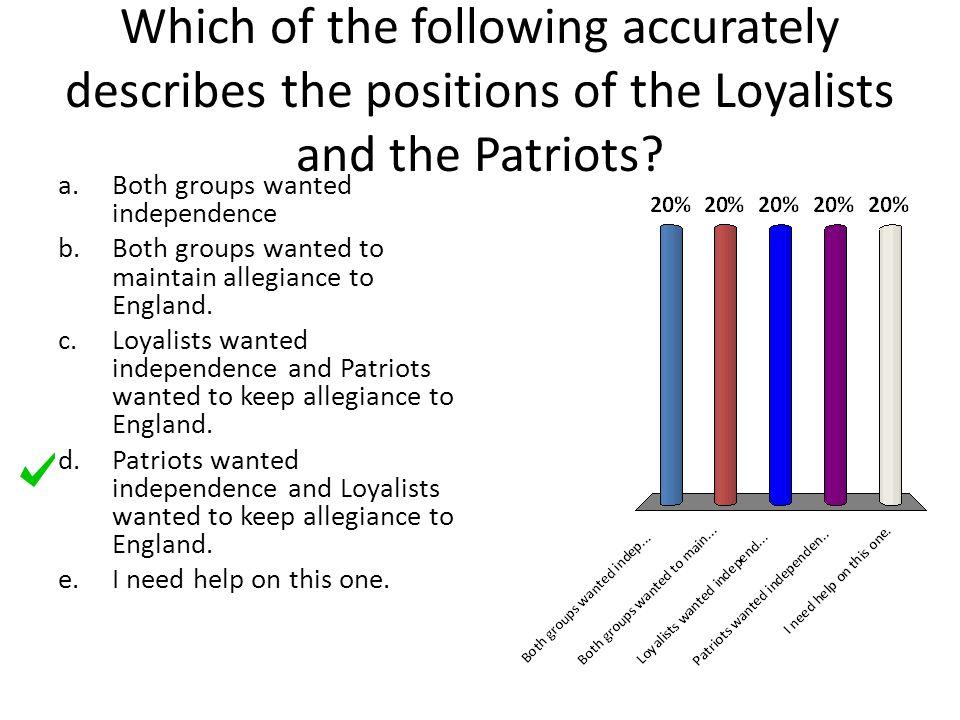 how did common sense help the patriots