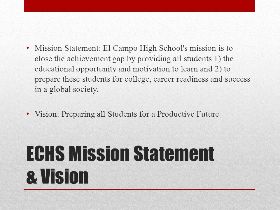 gap vision statement