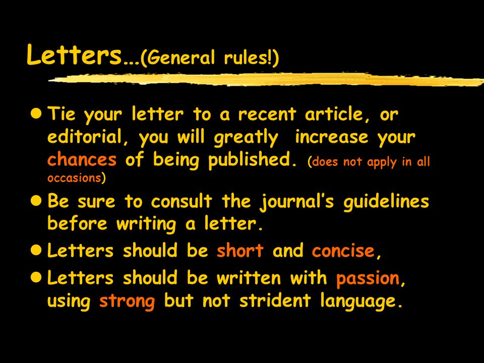 In the name of god how to write letters to the editor by mohammad lay publication also applies to scientific publications a few letters fit in a expocarfo Image collections