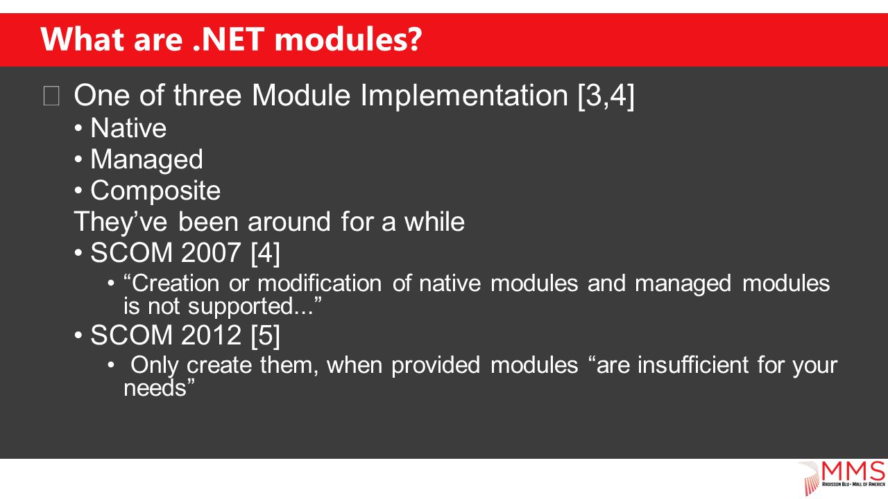 What are.NET modules.