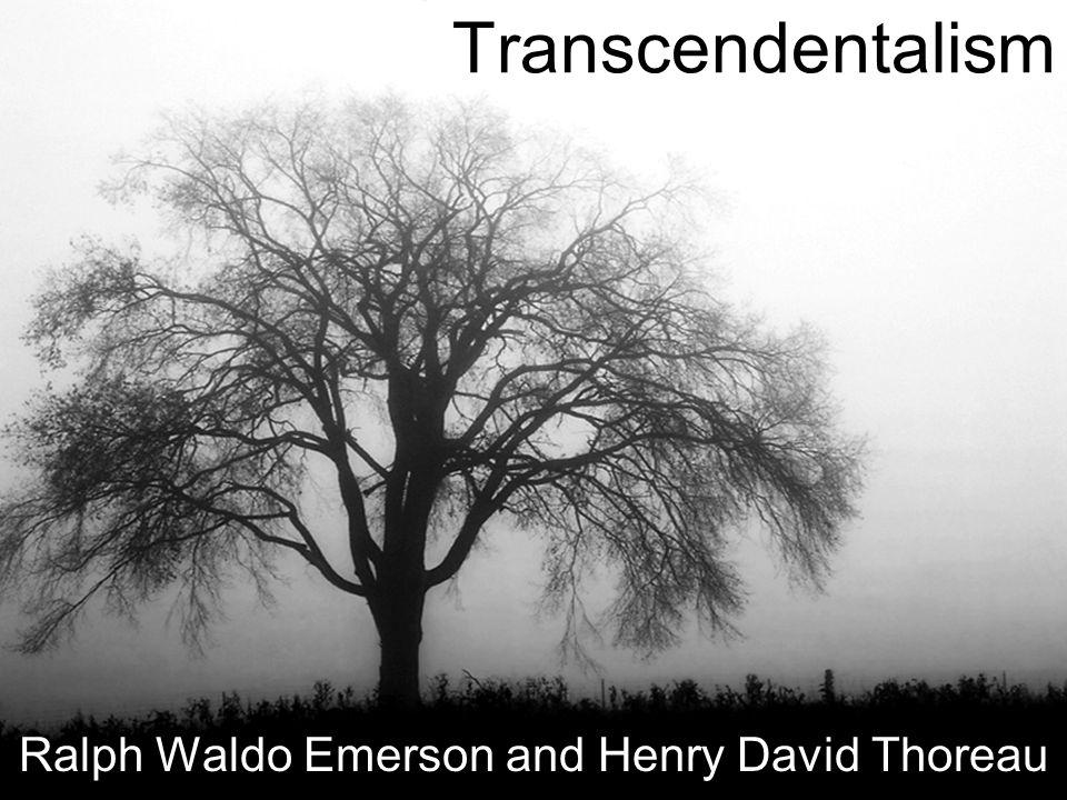 theme of nature by ralph waldo emerson