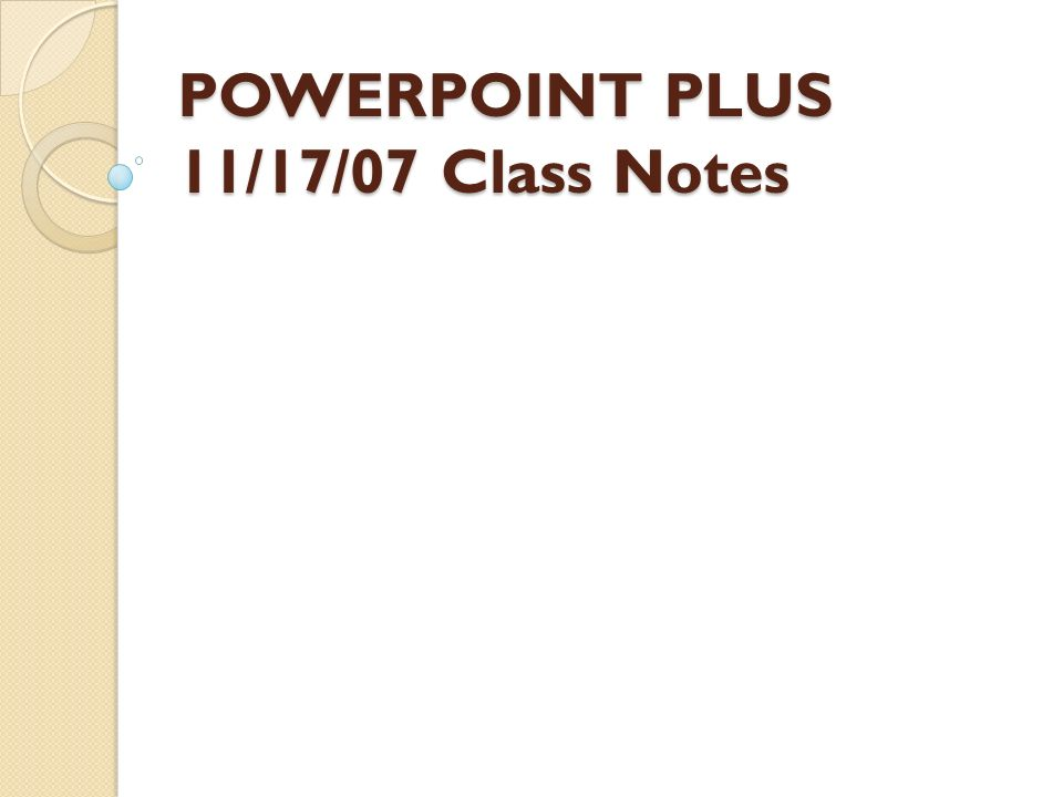 powerpoint plus 11 17 07 class notes what is a pixel a pixel is a