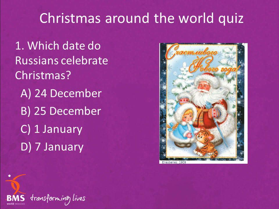 date around the world
