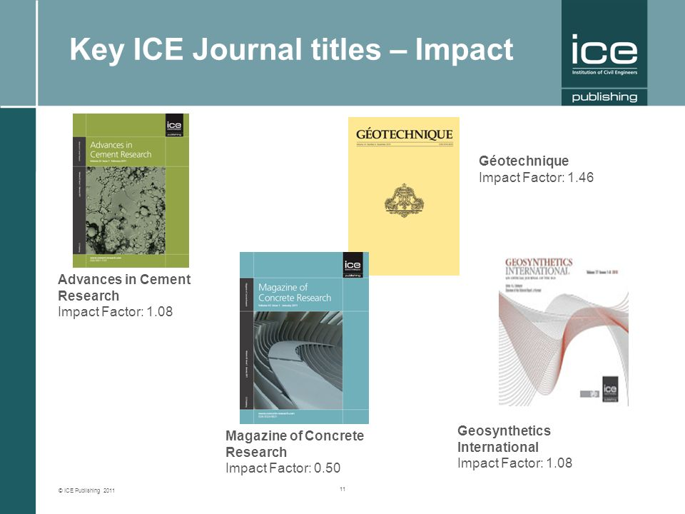 ICE Publishing 2011 ICE Publishing Shaping your future  - ppt download