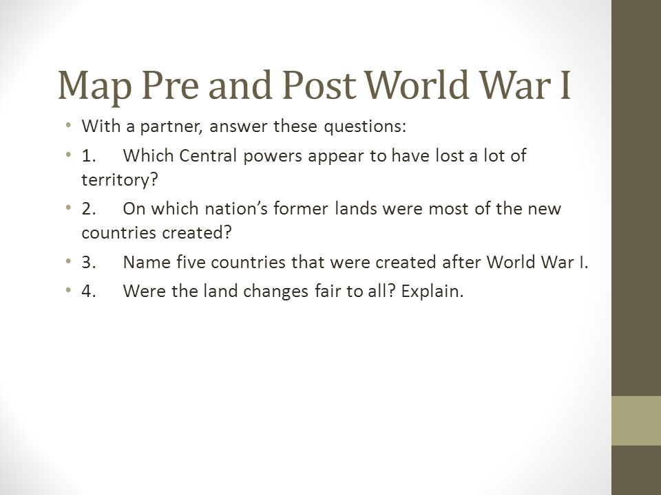 countries formed after ww1