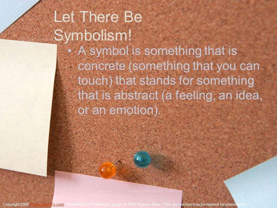 Symbolism Aks Creation Definition A Symbol Implies A Connection