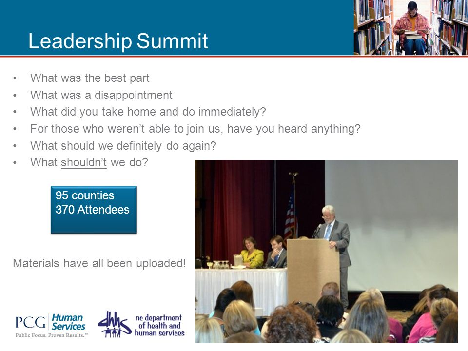 Work Support Strategy County Leadership Call and Webinar