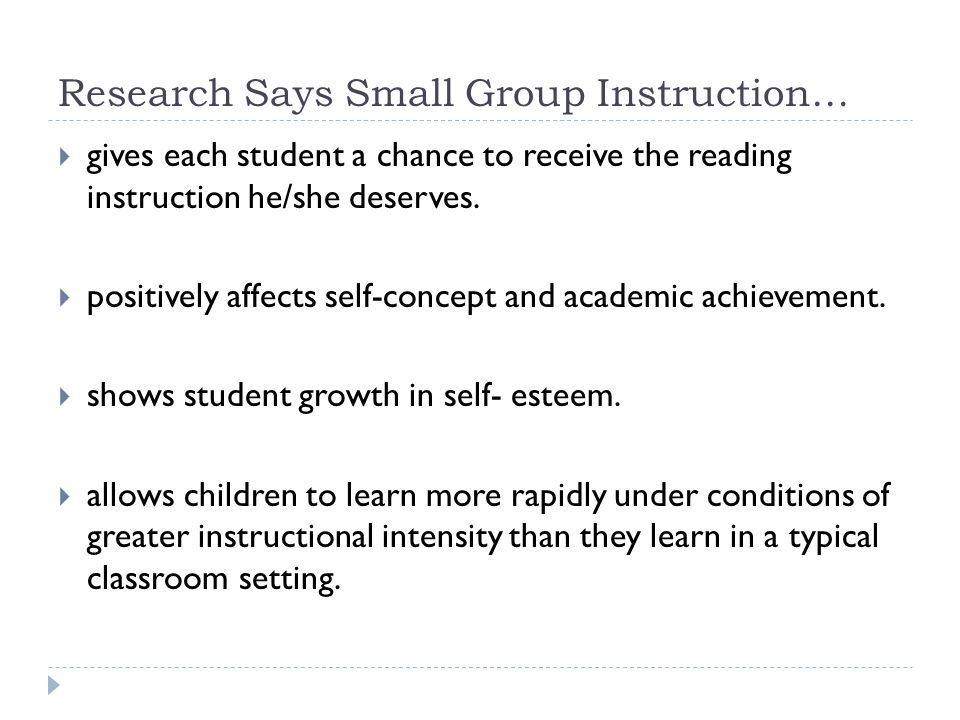 Small Group Instruction Prepared By Andrea Hnatiuk Ppt Download
