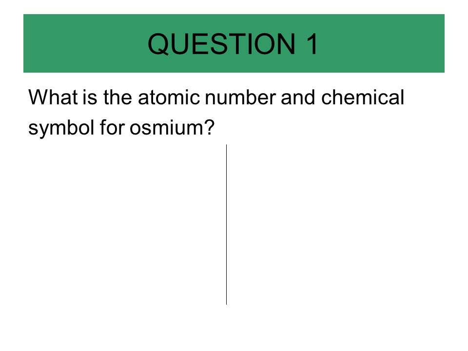 Applied Chemistry Midterm Problems Review Question 1 What Is The