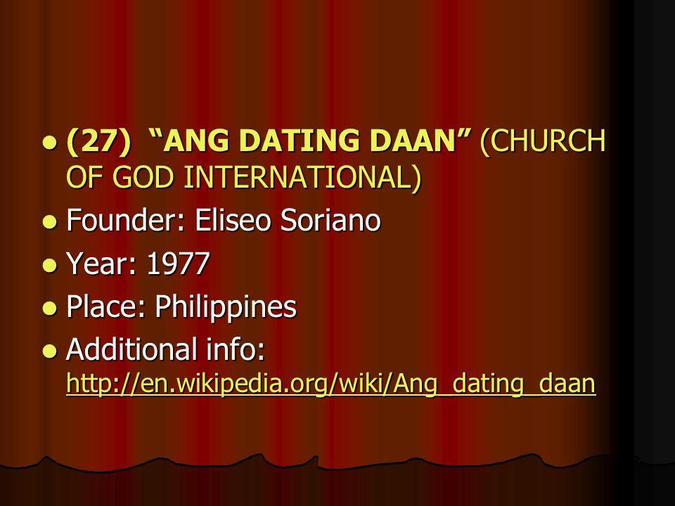 Ang dating Daan wiki datteren min er dating noen eldre enn meg