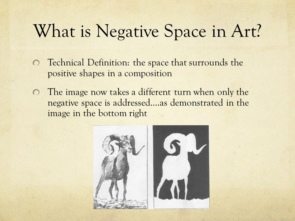 What is Negative Space in Art.