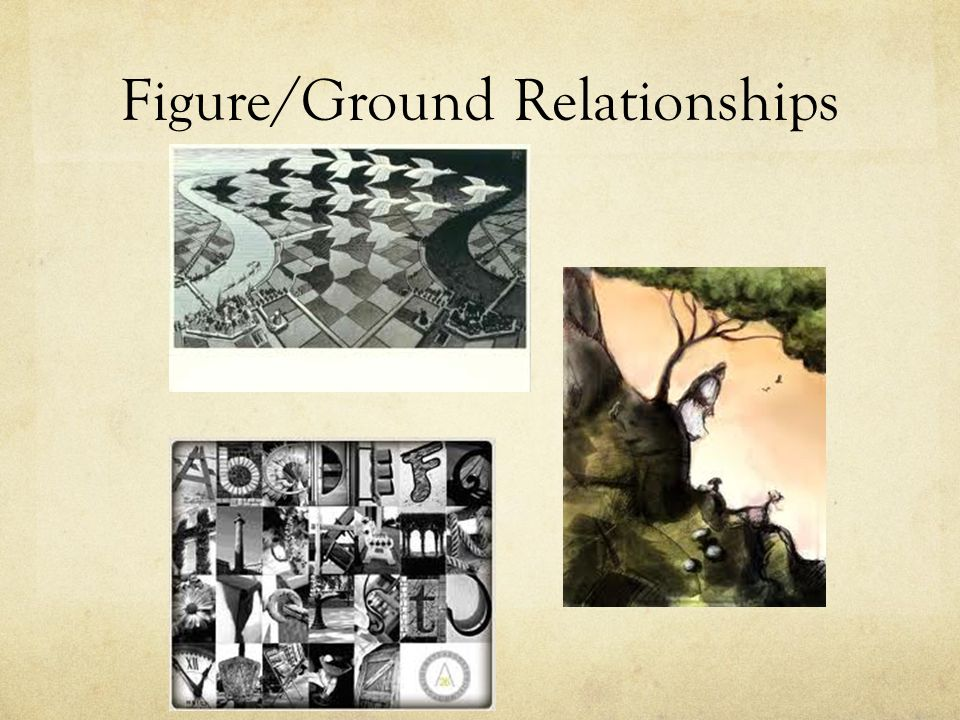 Figure/Ground Relationships