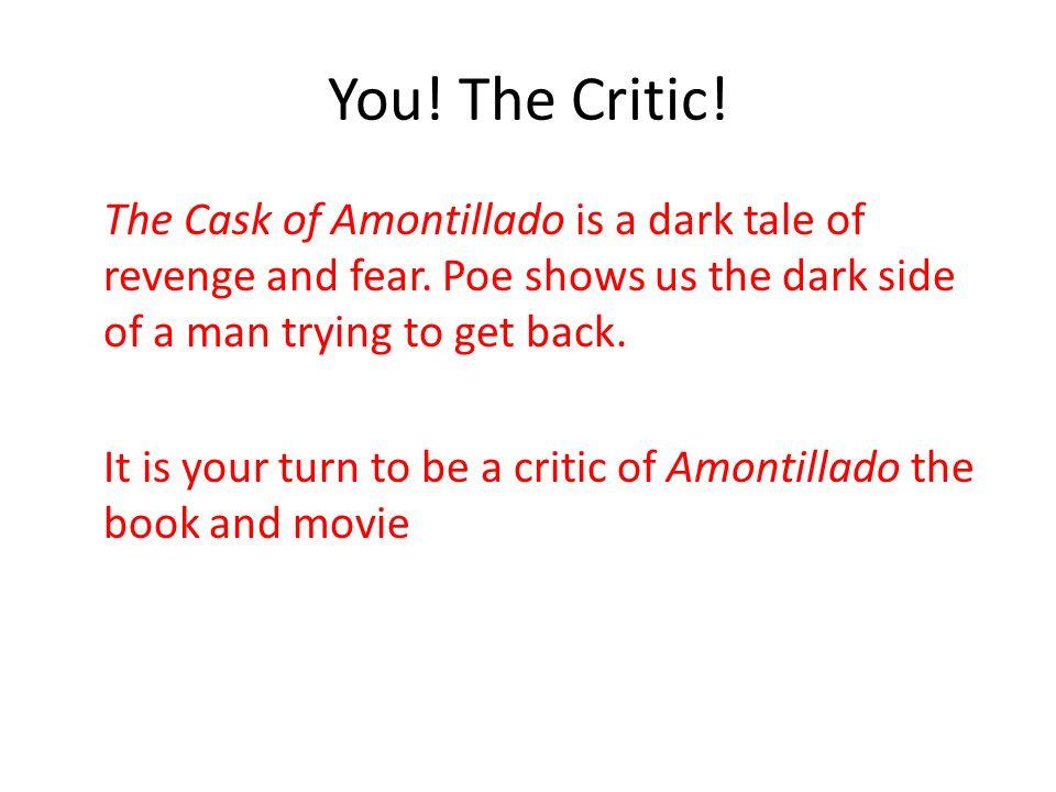 the cask of amontillado analysis essay