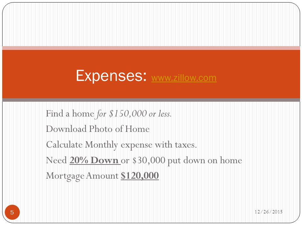 my budget project personal finance period your name 12 26 ppt