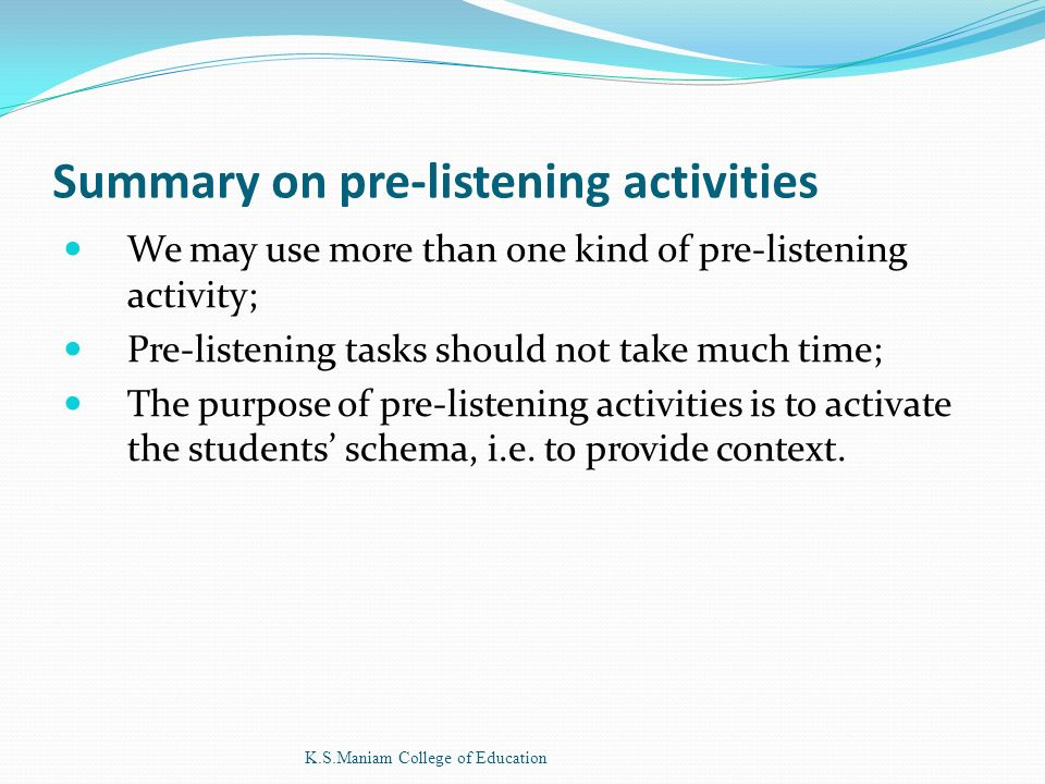 TEACHING OF GENERAL ENGLISH K S Maniam College of Education  - ppt