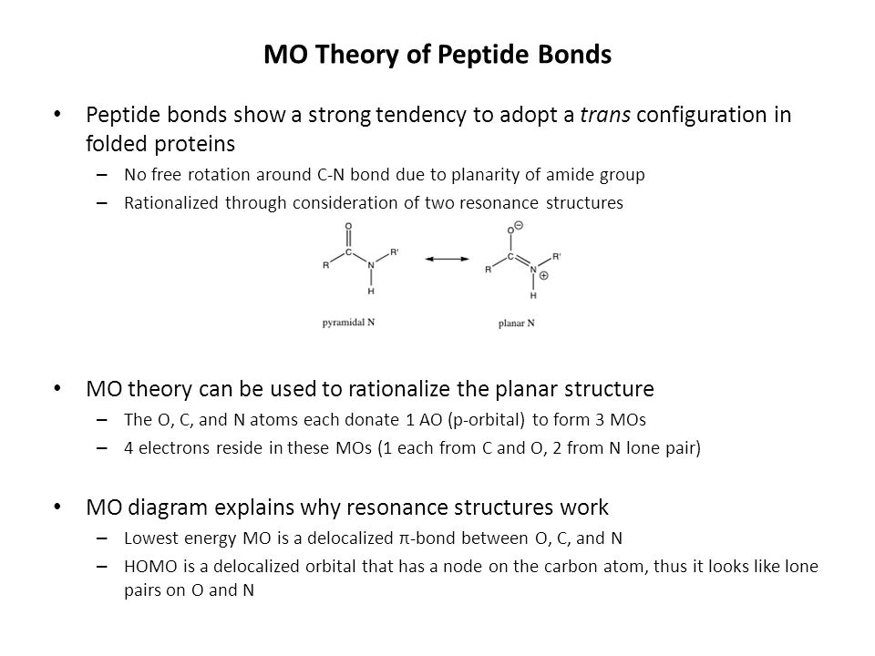 Mo Theory For Polyatomic Molecules Delocalization Mos In