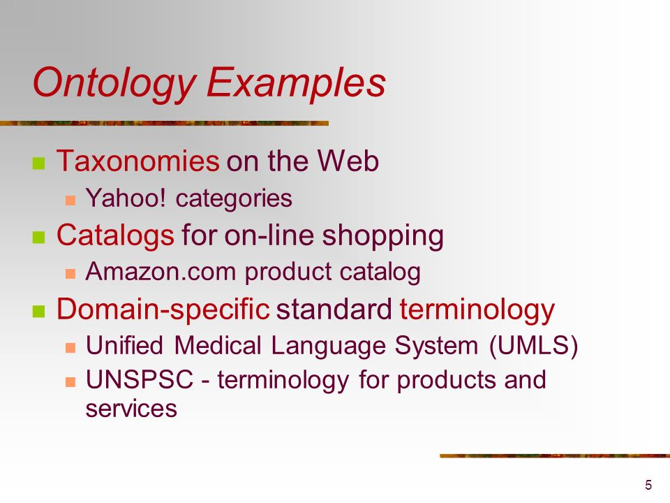 Ontology Engineering for the Semantic Web and Beyond Natalya