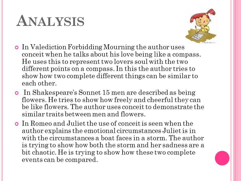 a valediction forbidding mourning essay