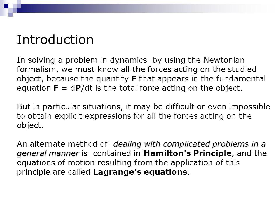 Introduction to Lagrangian and Hamiltonian Mechanics
