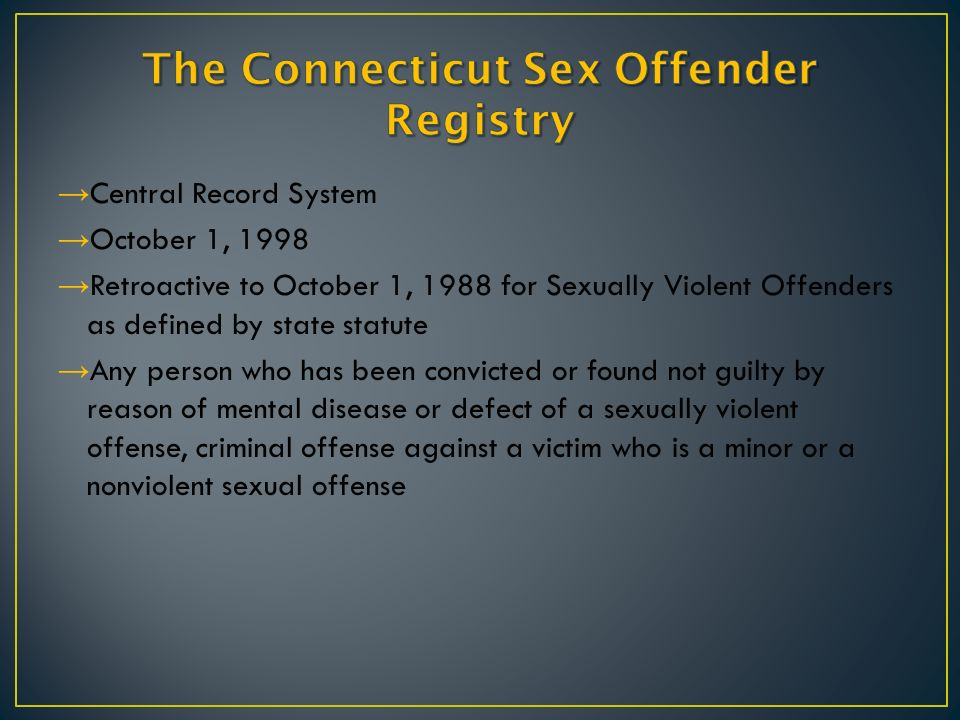 Sexually violent offender definition