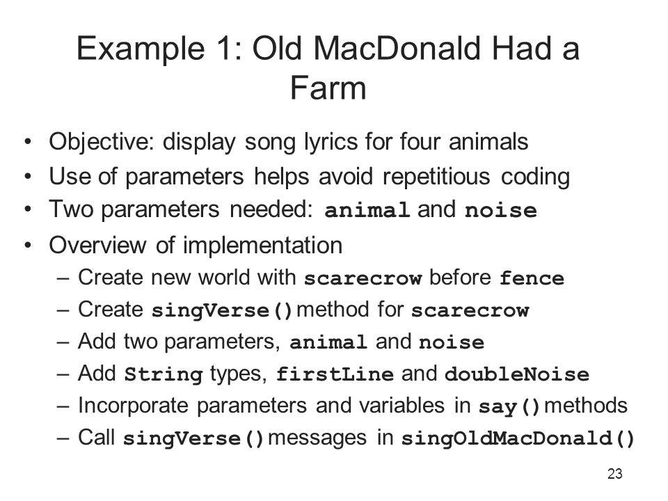 Variables (Alice In Action, Ch 3) Slides Credit: Joel Adams, Alice ...