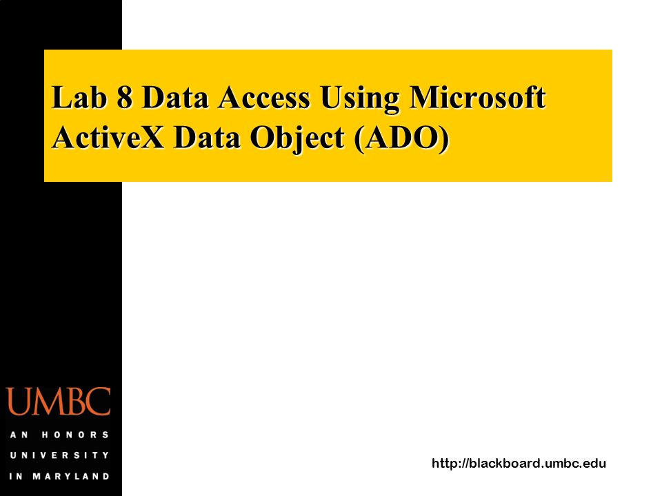 Ado: activex data objects: creating data-driven solutions: jason t.