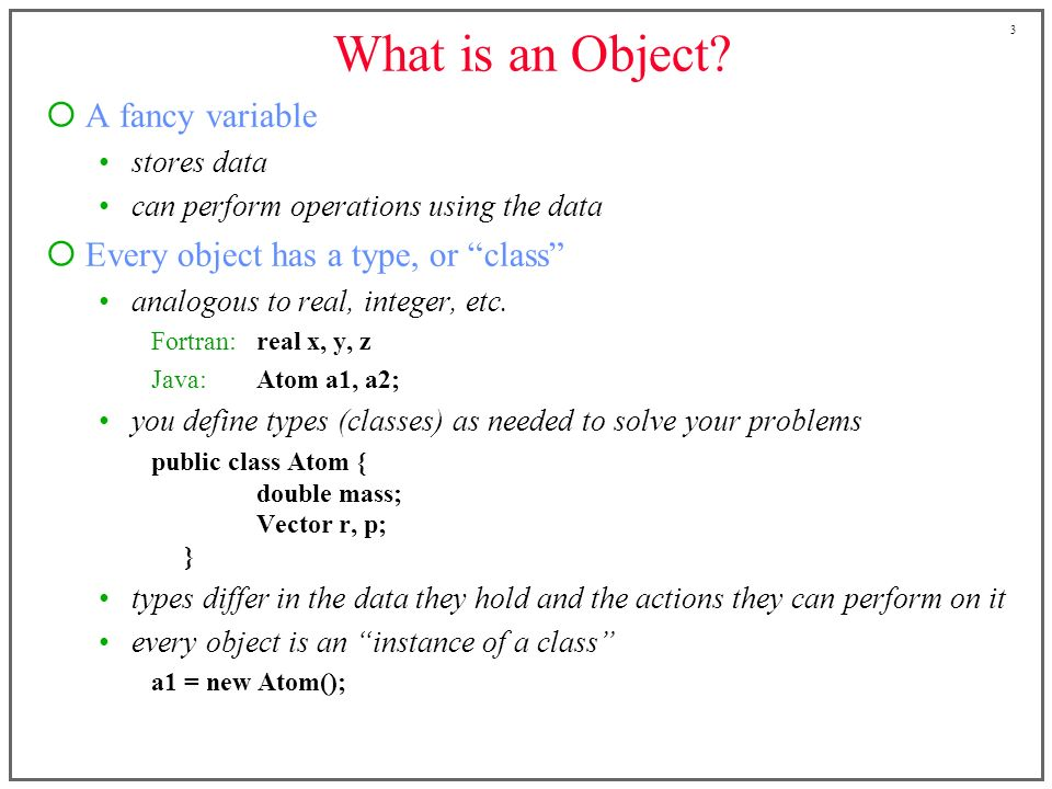 1 CE 530 Molecular Simulation Lecture 4 Object-Oriented