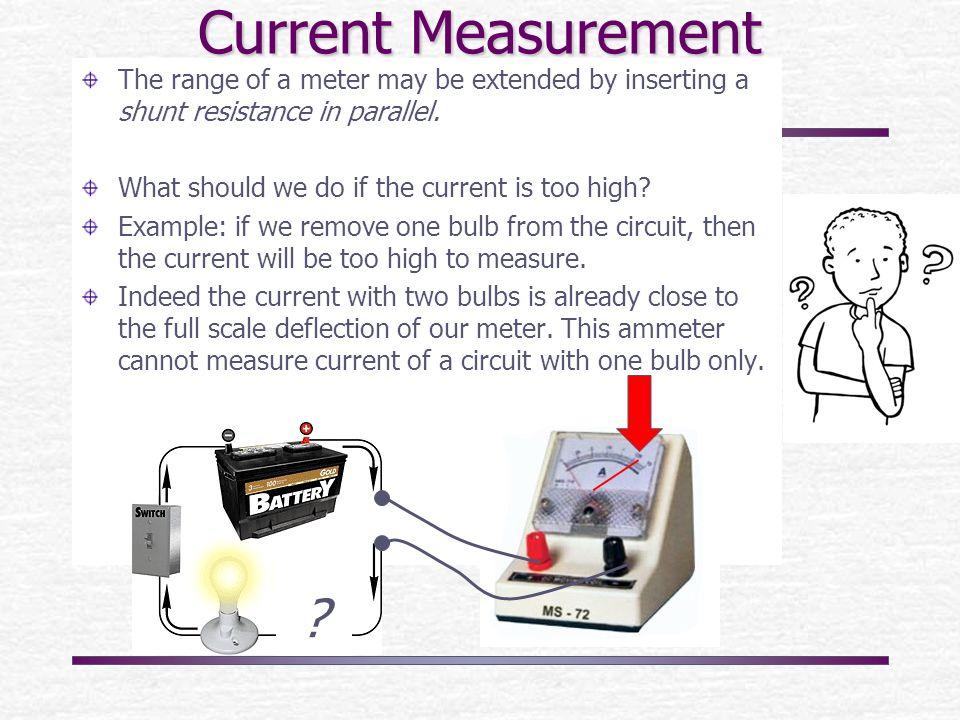 Current, Voltage measurements; Potentiometers and bridges Explain ...