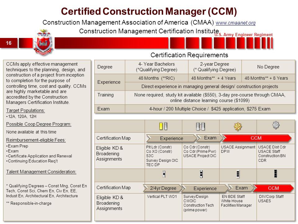 Us Army Engineer Regiment 1 Engineer Credentialing 9 Dec Ppt Download