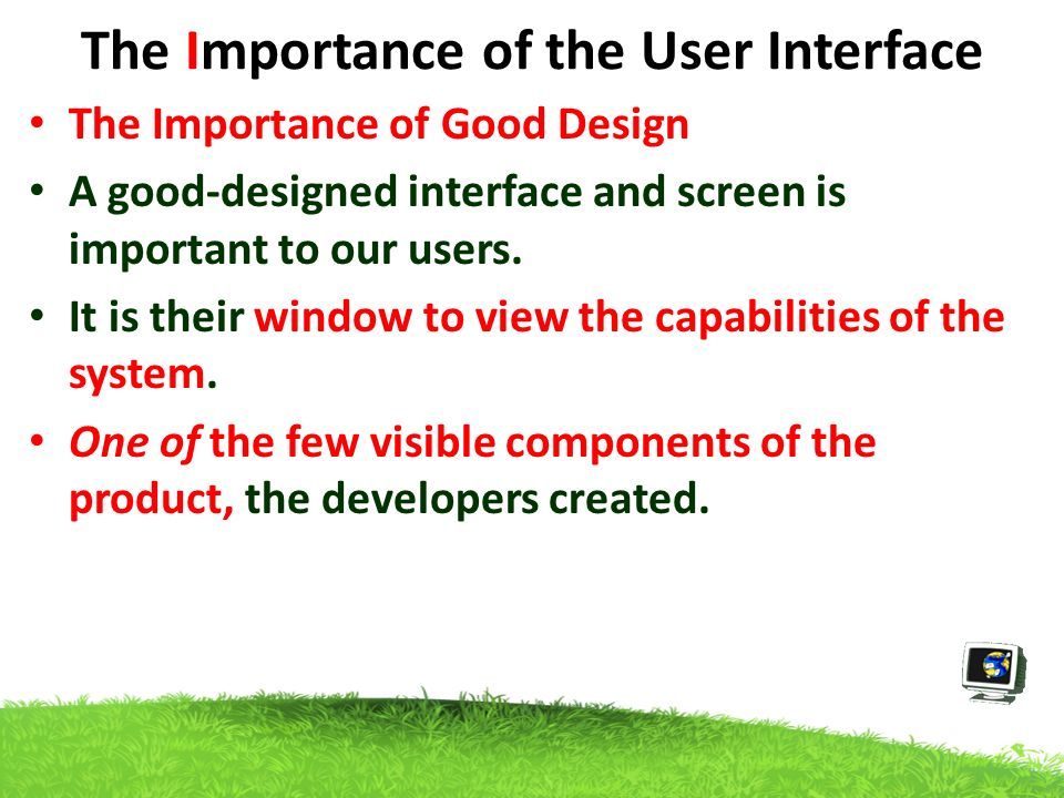 User Interface Design Uid Introduction Overview The Interface Is The Way To Communicate With A Product Everything We Interact With An Interface Eg Ppt Download