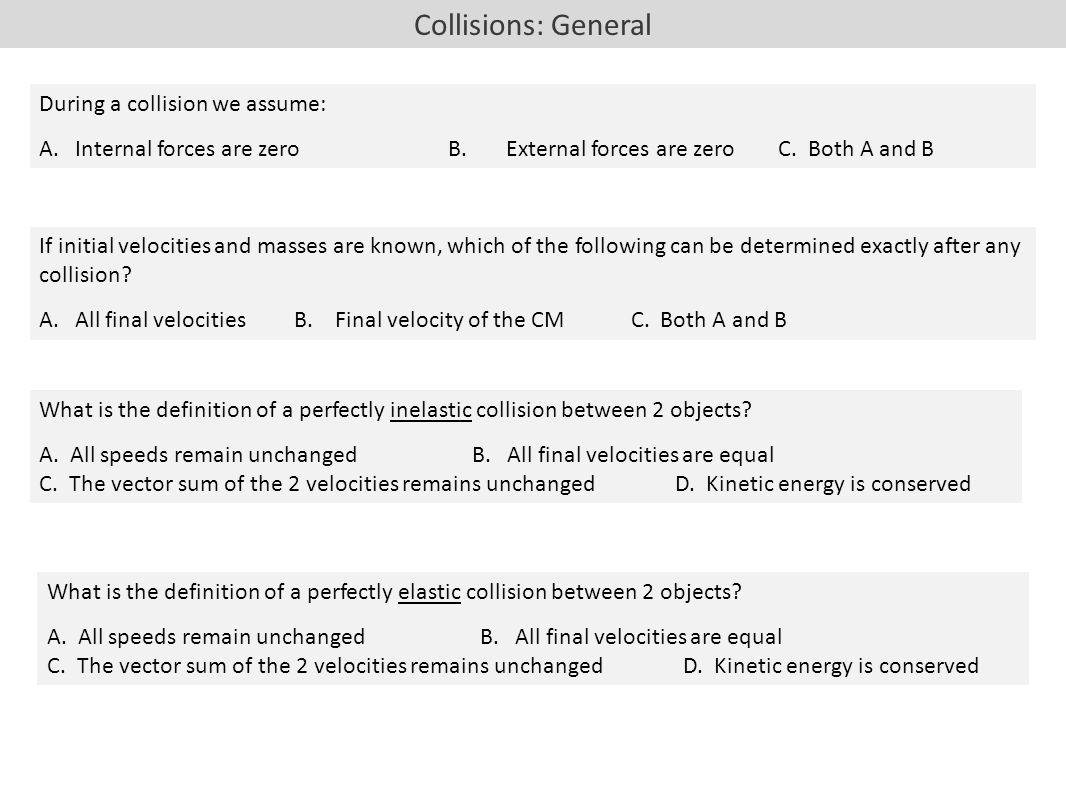 What is a collision? 97
