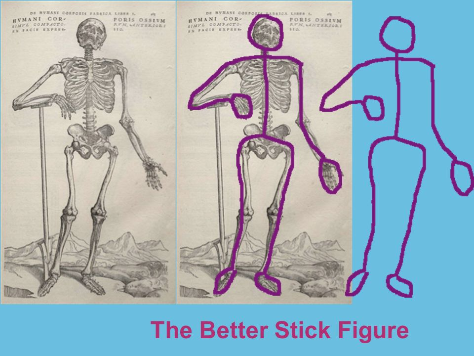 The Better Stick Figure, Gesture Drawing and Collage …a la Matisse ...