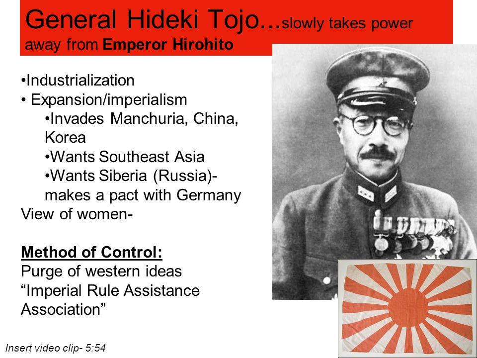 general hideki tojo biography