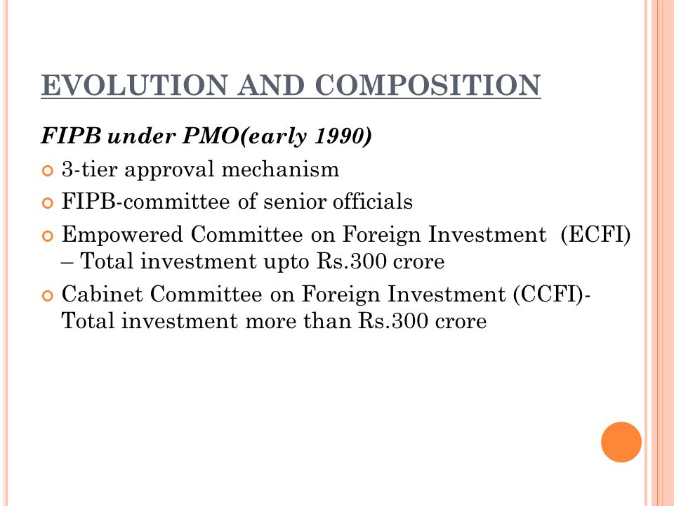 foreign investment promotion board ppta
