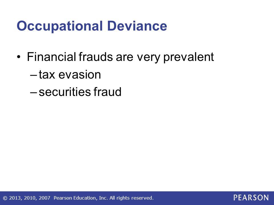 occupational deviance