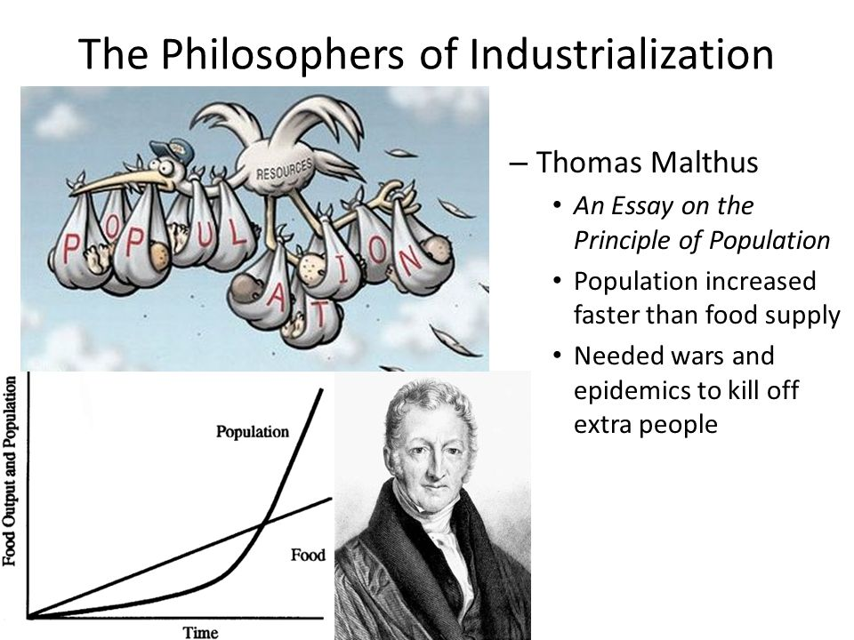 reverend malthus an essay on the principle of population Rev t r malthus the reverend thomas robert malthus frs (1766-1834), was a british scholar, influential in political economy and demography he popularised the economic theory of rent between 1798 and 1826 malthus published six editions of his famous treatise.