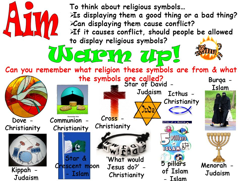 To Think About Religious Symbols Is Displaying Them A Good Thing