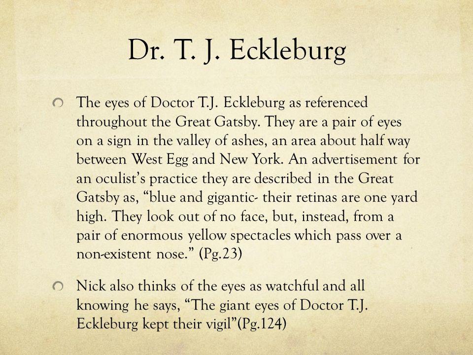 tj eckleburg great gatsby