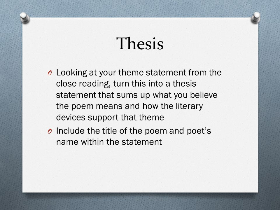 what is literary analysis in reading