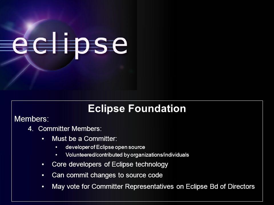 History Initial eclipse org Board of Stewards: Borland IBM