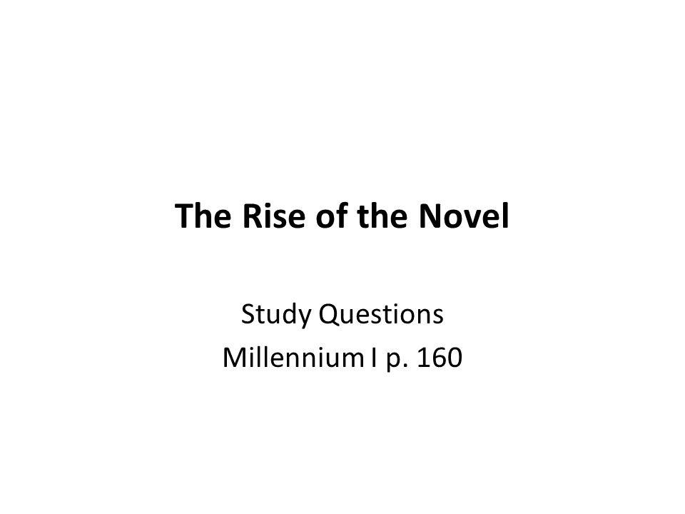 novel study questions grade six