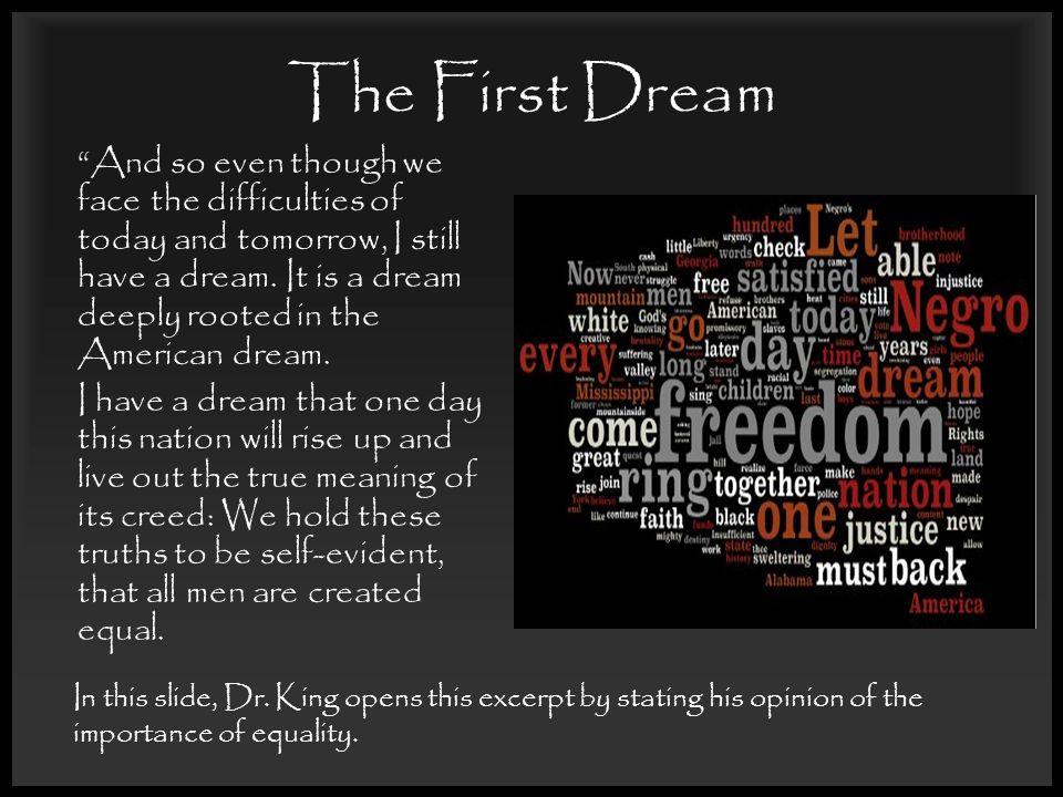 i have a dream speech theme