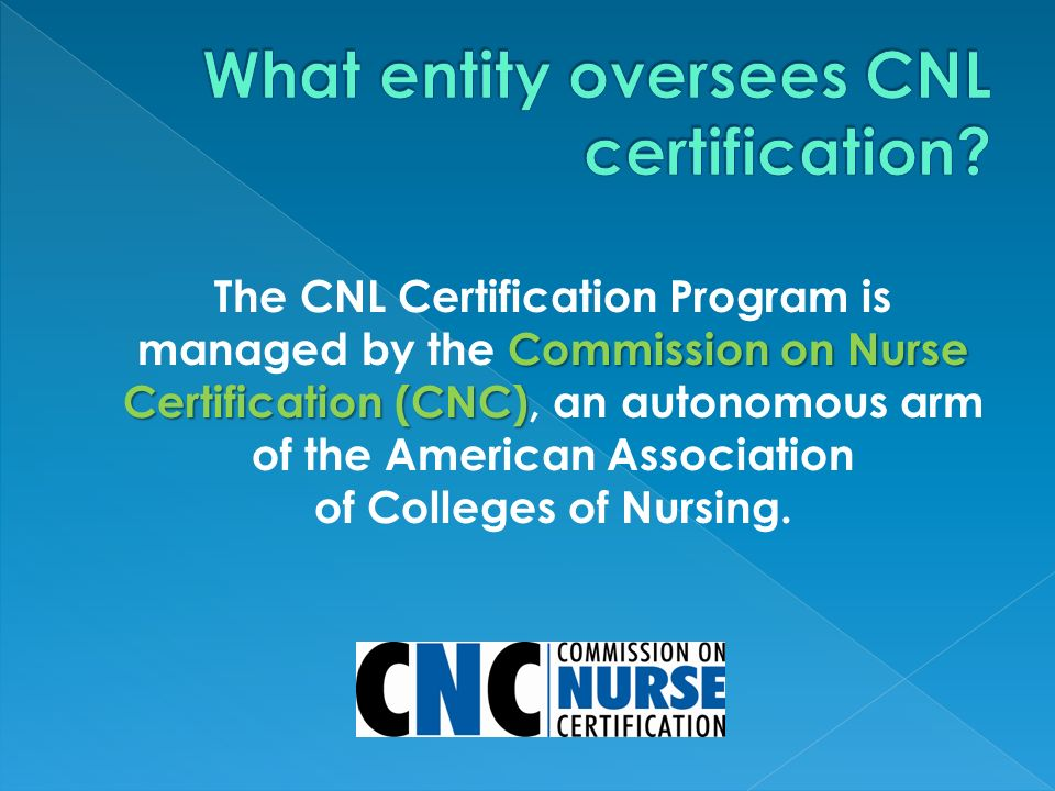 The Clinical Nurse Leader SM (CNL) is a fast emerging nursing role ...