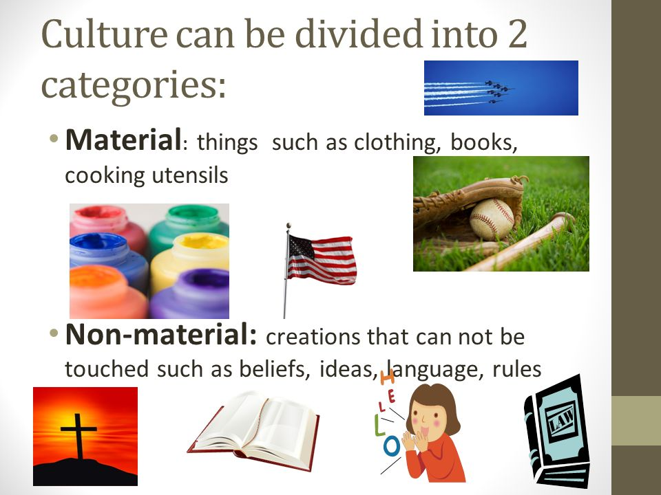 what is the definition of material culture