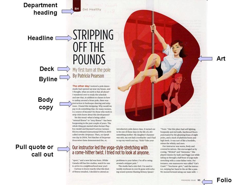 principles of magazine design jour contemporary magazine