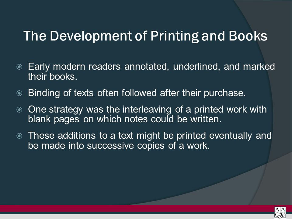impact of the printing press on society