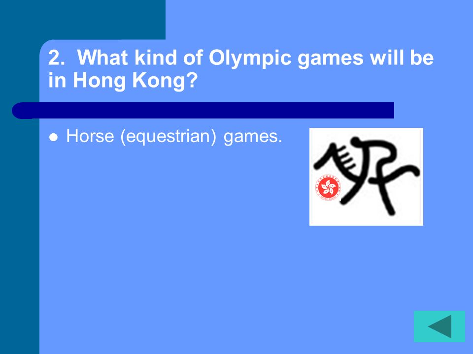 Olympic Quiz Choose A Number Read The Question Click To Reveal The