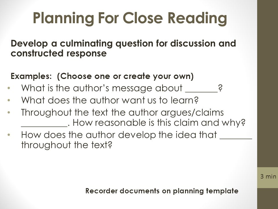 Module 4 Planning an Integrated Common Core Lesson 1 min. - ppt download