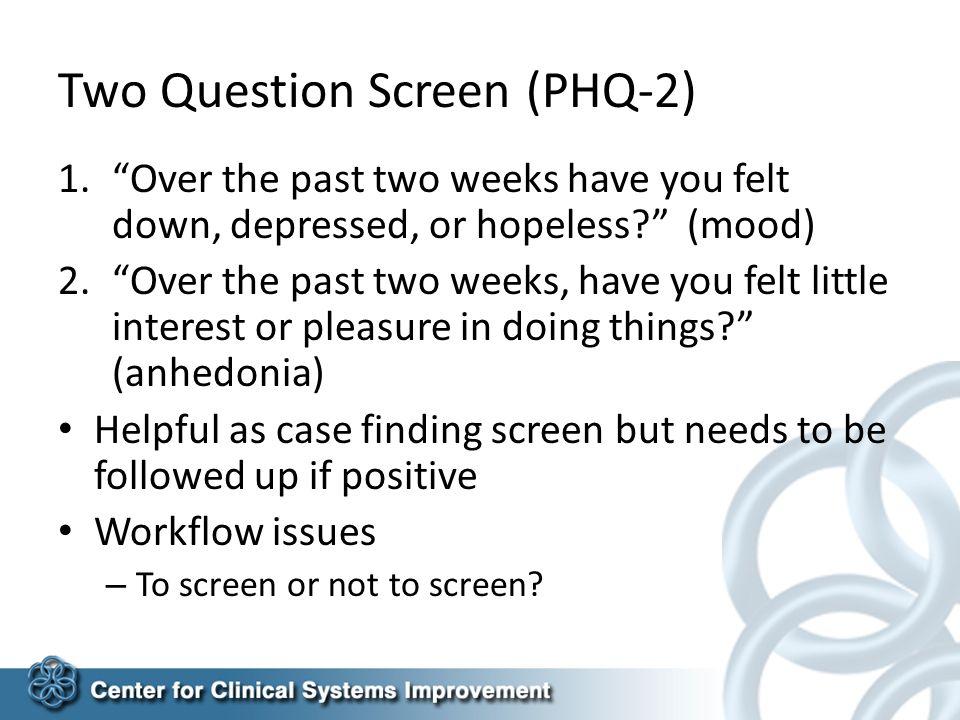 Depression Management Presentation 1 Of 3 Documented Diagnosis PHQ