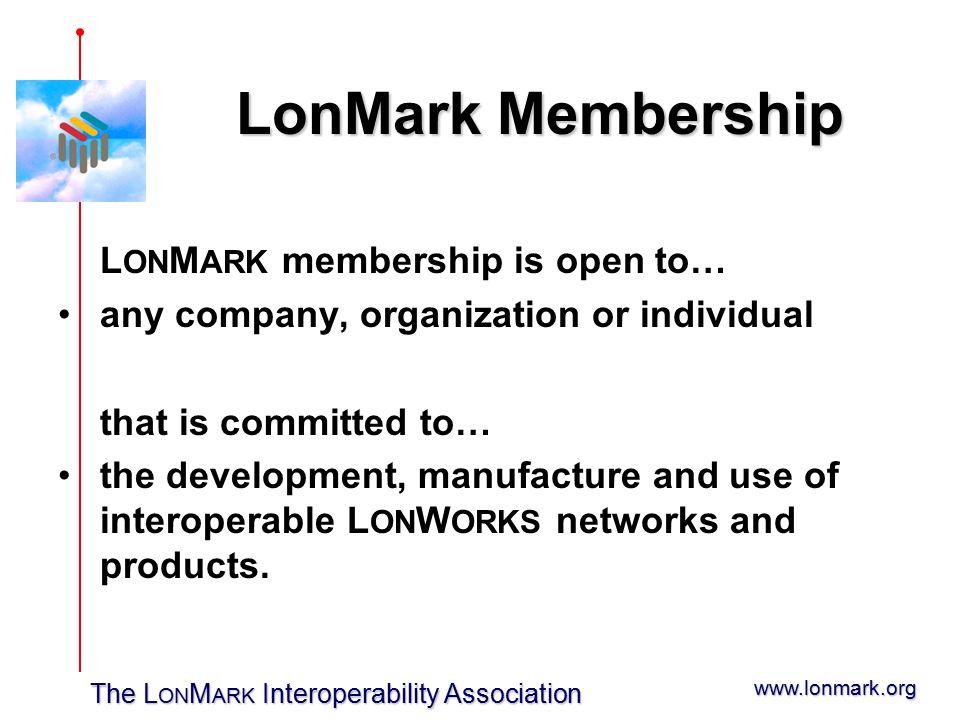 The L ON M ARK Interoperability Association Jeremy Roberts 로버츠